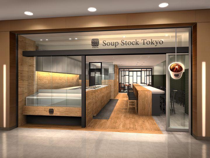 サラダも登場!「Soup Stock Tokyo 渋谷マークシティ店」OPEN