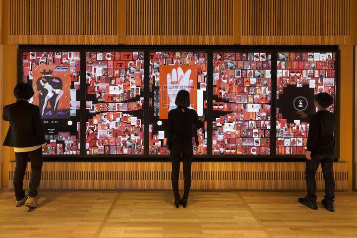 チームラボが富山県美術館に「Digital Information Wall」を常設