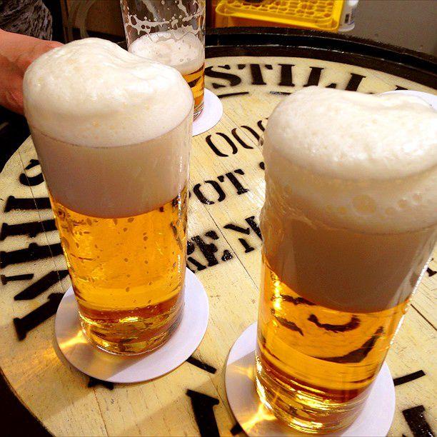 こだわりの秘密は注ぎ方。2時間限定の広島「ビールスタンド重富」が大人気