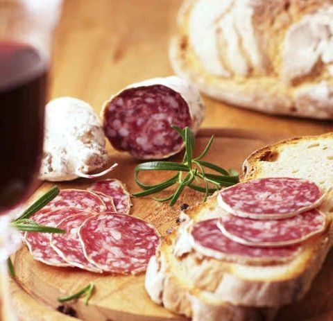 【フランス産】サラミブロック プレーン -ソシソンセックポワブル- 簡単・便利な【酒の肴】ビール・ワインのおつまみとしても最適♪ (ギフト対応) 【販売元:The Meat Guy(ザ・ミートガイ)】