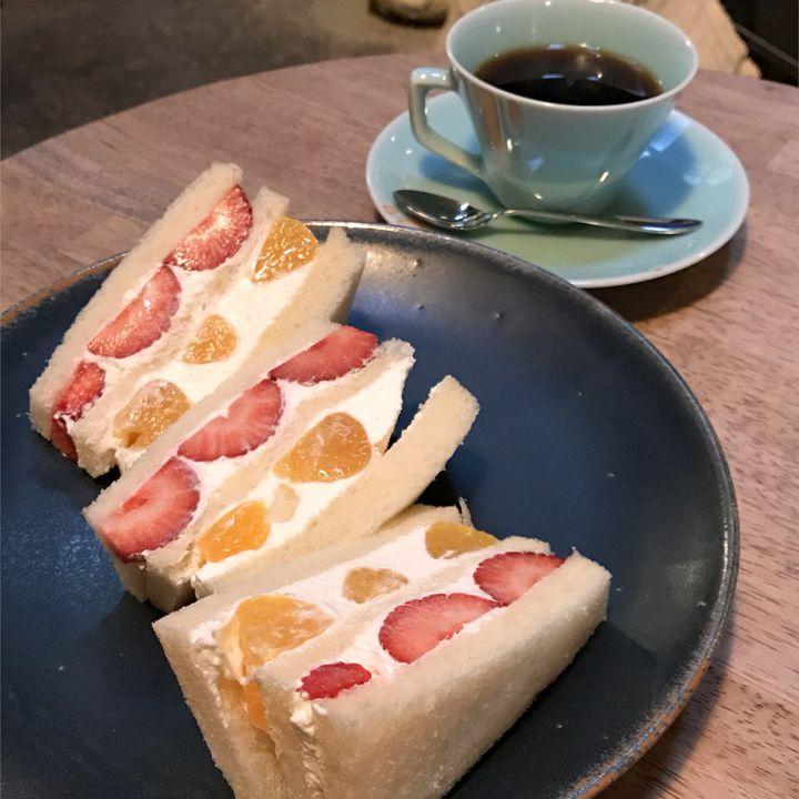 """絶品、萌え断、たまらない。関西地方にある""""フルーツサンド""""の名店10選"""