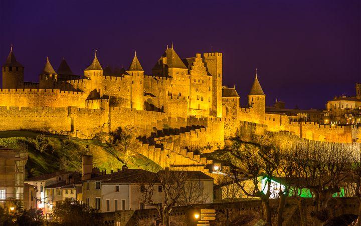 南西フランスの古い橋(カルカソンヌ)で中世の世界にタイムスリップ!