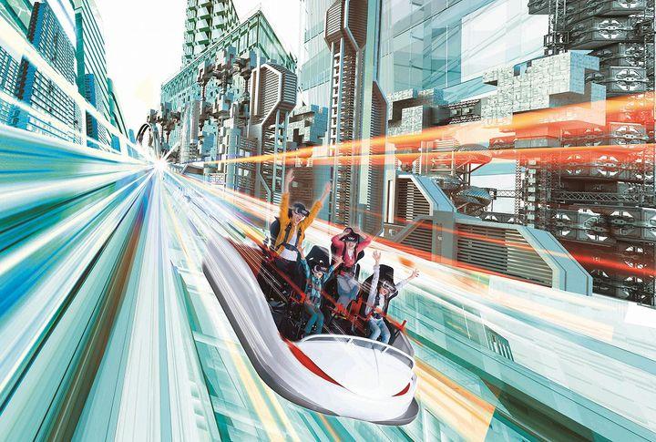 世界最高・最速・最長!ハウステンボスに絶叫コースター「VR-KING」誕生