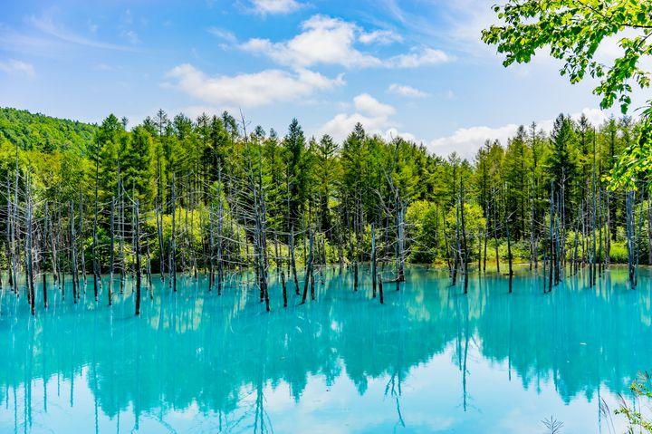 """自然が生み出す""""ブルー""""の力!北海道の「青」の絶景スポット9選"""