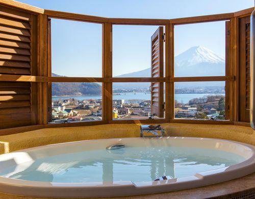 絶景富士山!ゆったり温泉!河口湖駅周辺ランキング上位の温泉宿15選