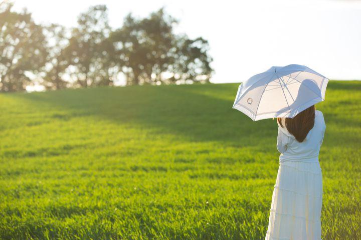 夏の日差しも怖くない。「Coci la elle」の美しい日傘が気になる