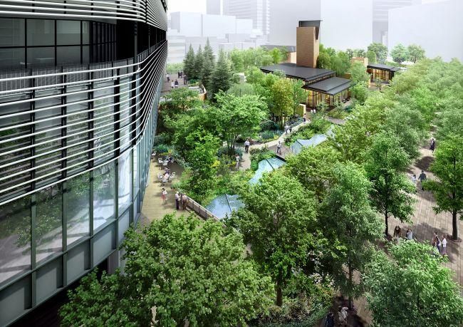 赤坂・虎ノ門エリアの新ランドマーク!緑に囲まれた最新の商業施設がついに誕生