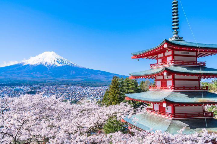 春の最強フォトジェ写真は山梨でゲット!山梨のおすすめ人気桜スポット10選