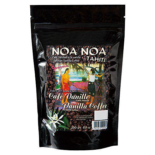 タヒチお土産 ノアノア バニラコーヒー