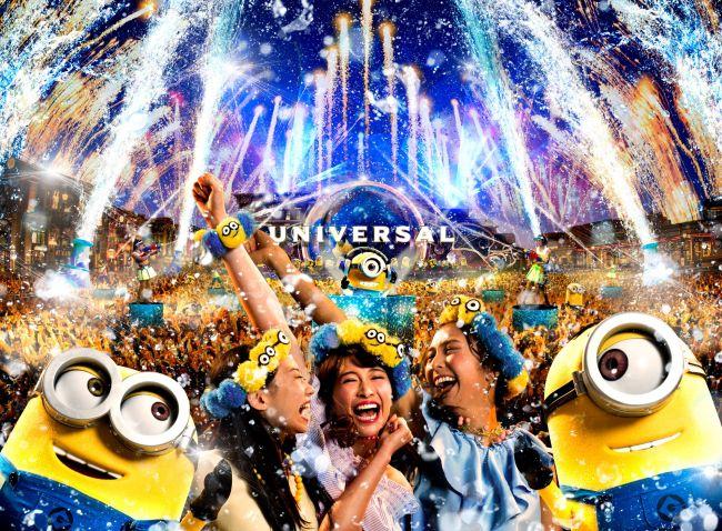 【終了】水&泡&花火に包まれてミニオンと大騒ぎ!USJ史上初の夏の夜イベント開催決定