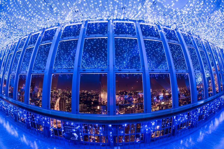 【開催中】大人気スポット!東京タワー「天の川イルミネーション」で素敵な夏を