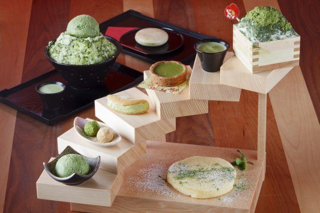 一段食べるごとに幸せが深まる。福岡で夢のような「抹茶タワー」誕生