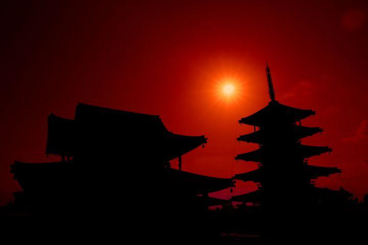 """一日の終わりは絶景で。京都・奈良にある7つの""""夕日、夕焼け""""スポット"""