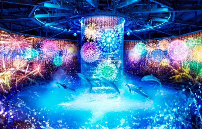 【終了】アクアパーク品川で夏を感じる。「花火アクアリウム by NAKED」開催