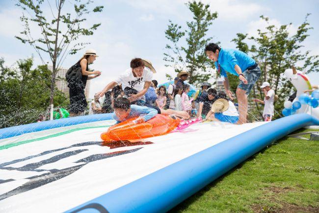 """【終了】家族で行きたい!品川に登場する""""水の祭典""""で夏の猛暑を吹き飛ばそう"""