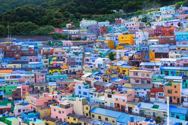 甘川洞文化村は釜山のマチュピチュ?韓国旅行で訪れたい話題の村をご紹介
