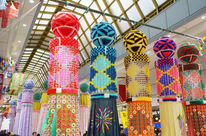 【終了】豪華絢爛な笹飾りにうっとり。今年も「仙台七夕まつり」開催