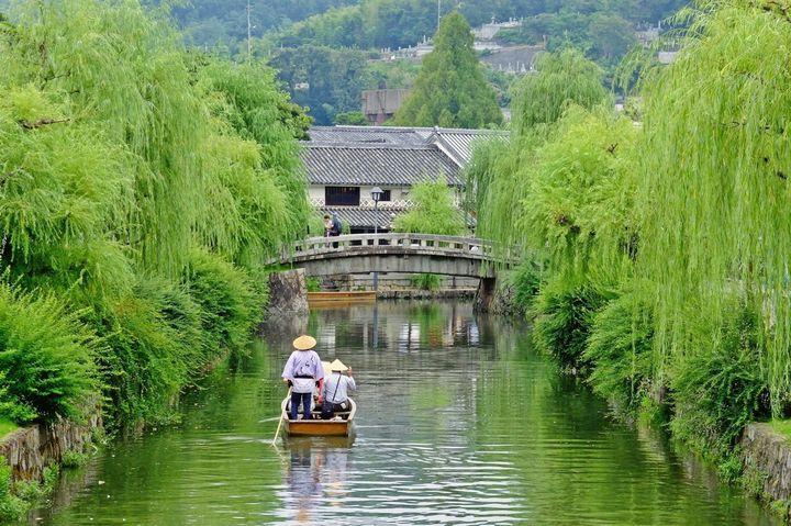 岡山の風情ある町並みを楽しむ!「くらしき川舟流し」でゆったり観光がしたい