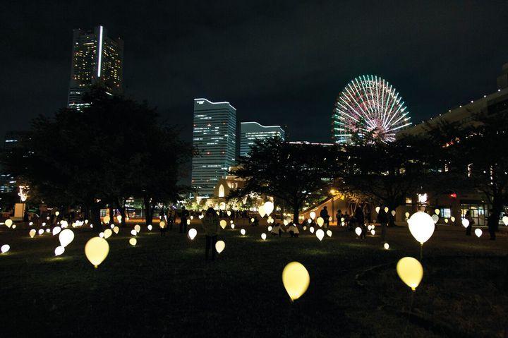 横浜の夜景に思わずうっとり。『スマートイルミネーション横浜2017』開催