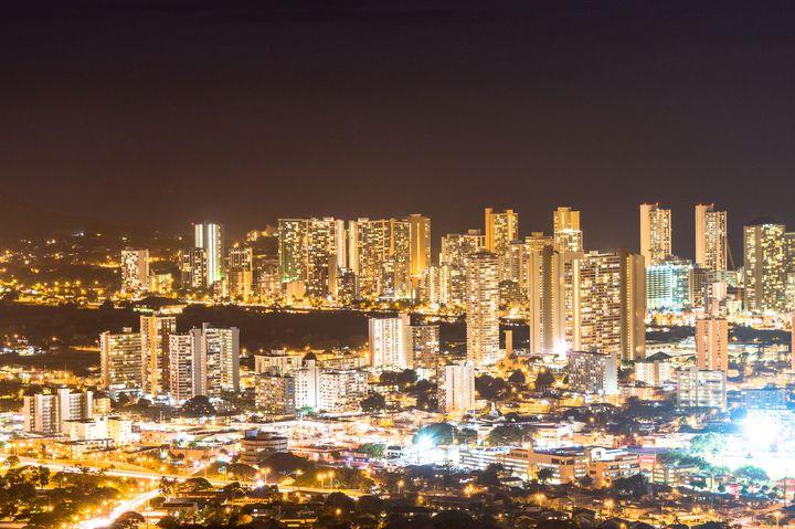 ハワイで1度は見て欲しい景色。タンタラスの丘からの夜景が絶景すぎた