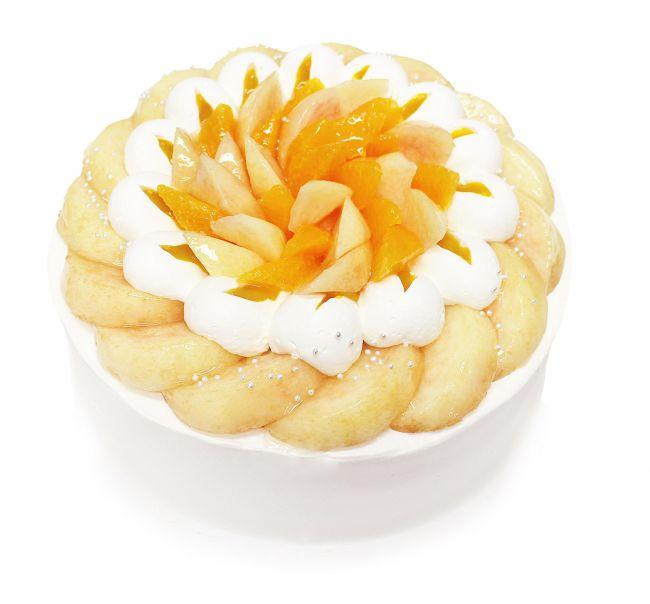 【終了】カフェコムサ初!「白桃」をふんだんに使用した「ももコレクション」開催