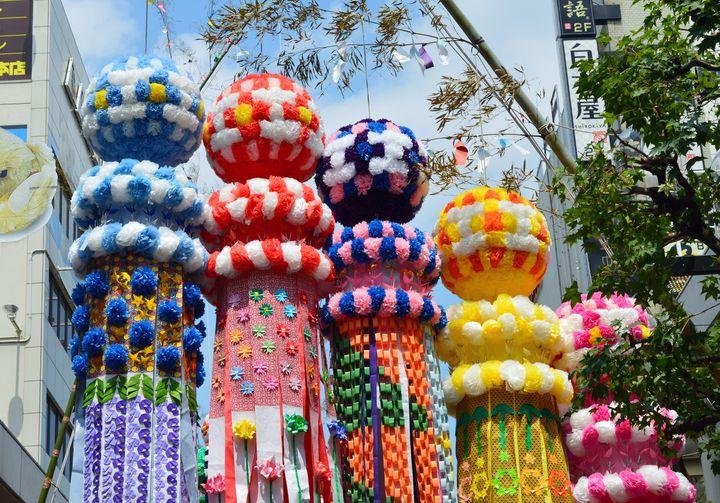 夏の風物詩のお祭りを訪れよう。「仙台七夕まつり」を満喫する仙台日帰りプラン
