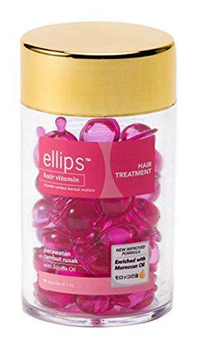エリップス(ellips)ヘア・トリートメント(ローズ&グリーンの香り)ボトル 50粒