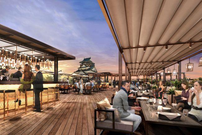天守閣が目の前に!大阪城に一番近いレストラン・パーティ施設がオープン
