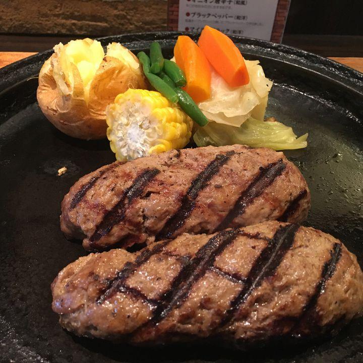極上レアハンバーグがあるって知ってた?巣鴨の名店「グリルK」でお肉をいただく