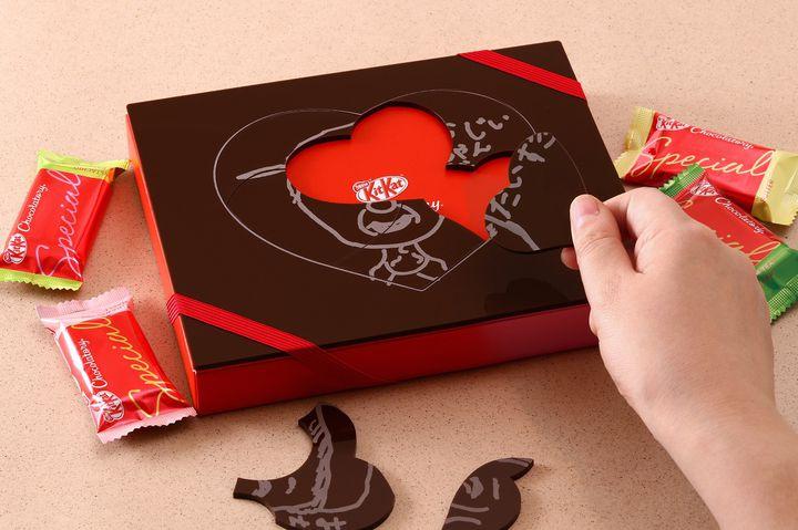 【終了】敬老の日まで限定!キットカット ショコラトリー 銀座本店で『似顔絵パズル ギフト』を作ろう