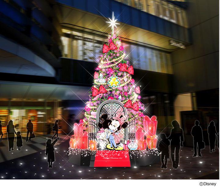 """【終了】ディズニーのツリーも登場!2017年の秋冬は""""渋谷ヒカリエ""""に大注目"""