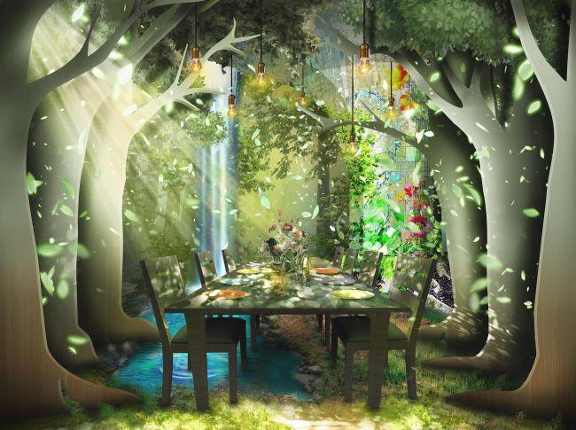 食×アートの体験型レストラン「TREE by NAKED」が岐阜県にOPEN