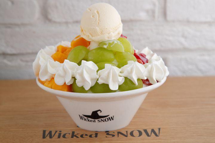 【終了】シャインマスカットを贅沢に!「WickedSnow 原宿」から秋限定かき氷登場