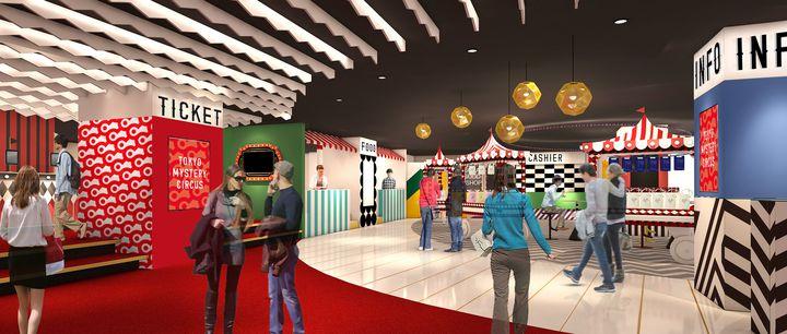世界初・国内最大級の謎解きテーマパーク!『東京ミステリーサーカス』新宿に誕生