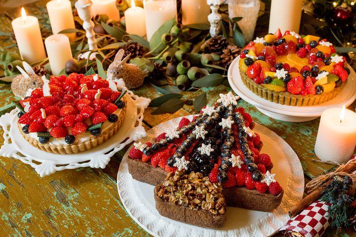 華やかな3種のタルト!キル フェ ボン「クリスマスケーキ 2017」予約受付開始