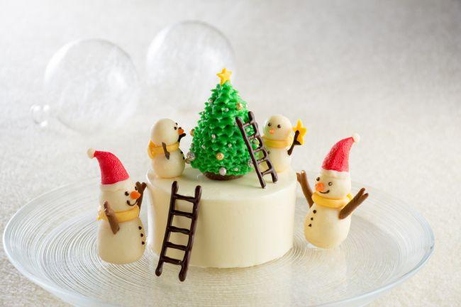 """まるで童話の世界!可愛すぎる""""クリスマスケーキ""""がリーガロイヤルホテルから登場"""