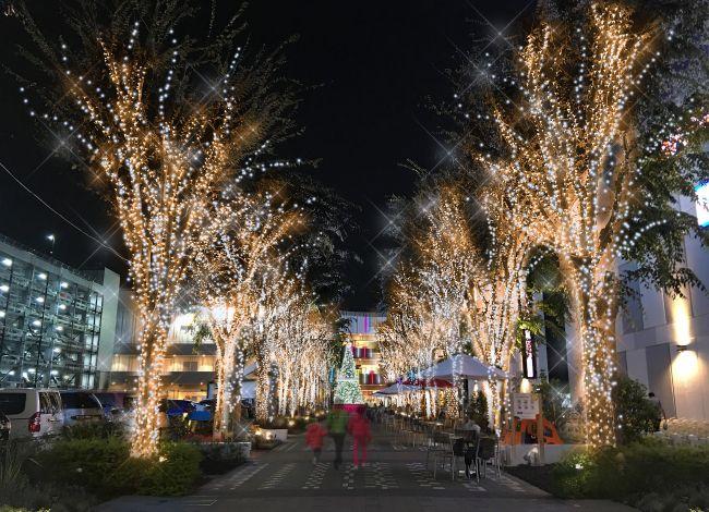 【終了】埼玉の夜デートで行きたい!「コクーンシティイルミネーション2017」開催