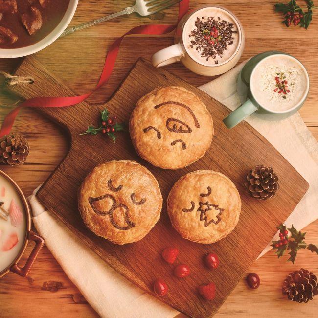 冬にぴったりの具沢山パイも!「パイフェイス」からクリスマス商品登場