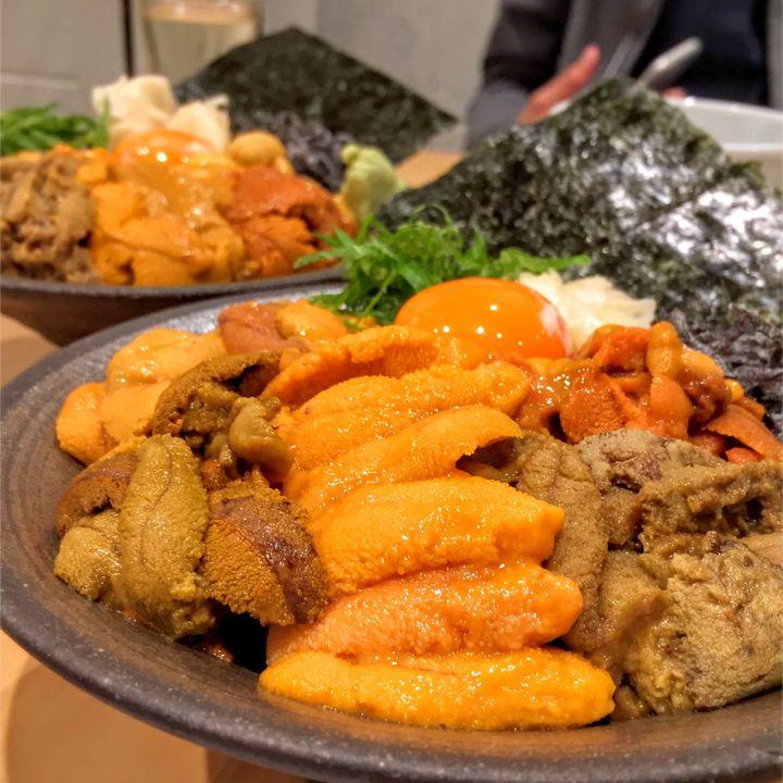 死ぬほどウニが食べたい!東京都内の贅沢すぎる「山盛りウニ丼」8選