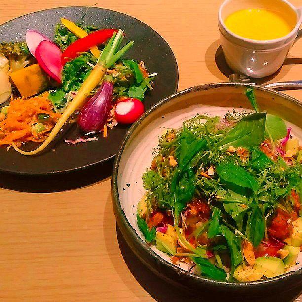 美味しく野菜が食べたい方に!健康的で美味しいご飯が食べれる東京都内のお店7選