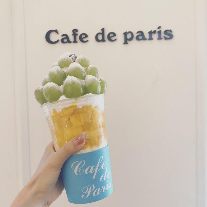 フォトジェ!あまーいフルーツパフェが楽しめる、cafe de parisとは