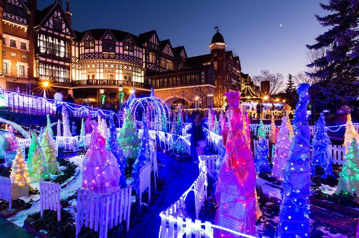 【終了】北海道の人気観光スポット!白い恋人パークにてイルミネーション開催