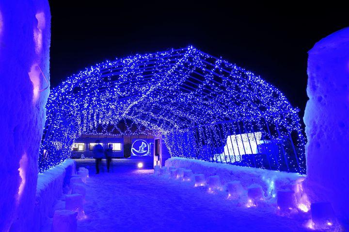 【開催中】冬花火にかまくらBARも!「十和田湖冬物語2020」開催