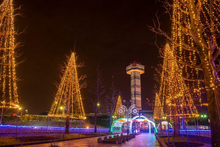 【終了】北欧をイメージしたイルミネーション!岐阜・木曽三川公園にて「冬の光物語」開催
