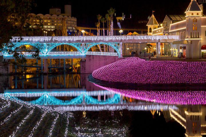 【終了】中四国最大級のイルミ!香川で「レオマリゾート・レオマ光ワールド」開催中