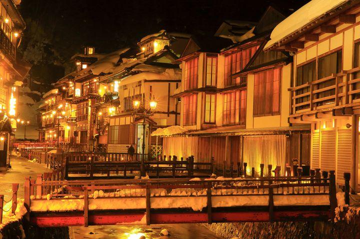 【大人女子必見】冬の絶景は温泉と共に。いつか泊まりたい銀山温泉の温泉宿まとめ