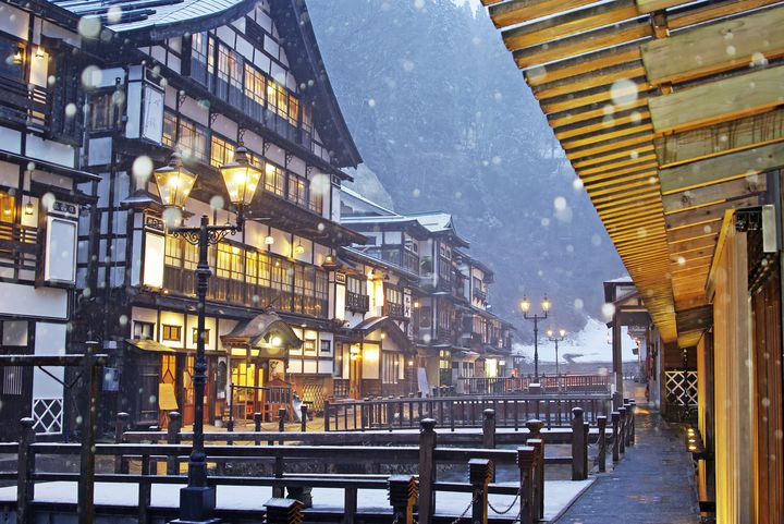 【大人女子必見】冬の絶景は温泉で。いつか泊まりたい銀山温泉宿まとめ