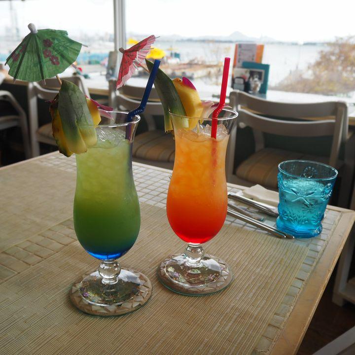 滋賀に発見!インスタ映えカフェ!青色を基調としたRcafe at Marina