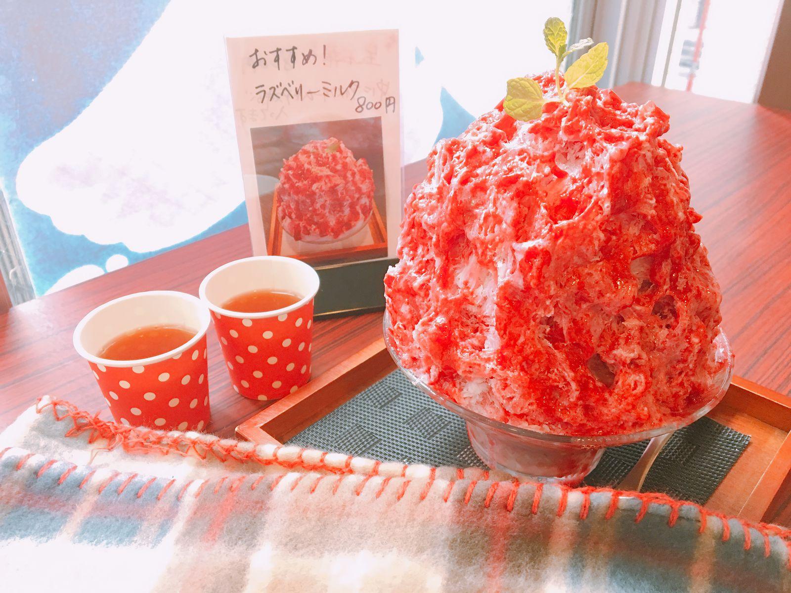あん 氷 カフェ