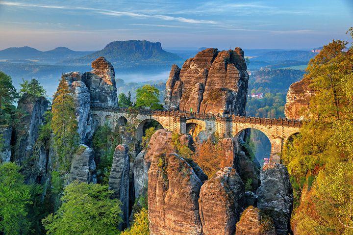 息を飲むドイツの絶景!ザクセン・スイス国立公園がすごい